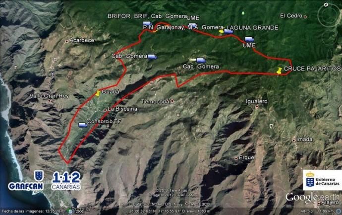 Waldbrand La Gomera – Offizielle Mitteilung Tourismusbehörde La Gomera