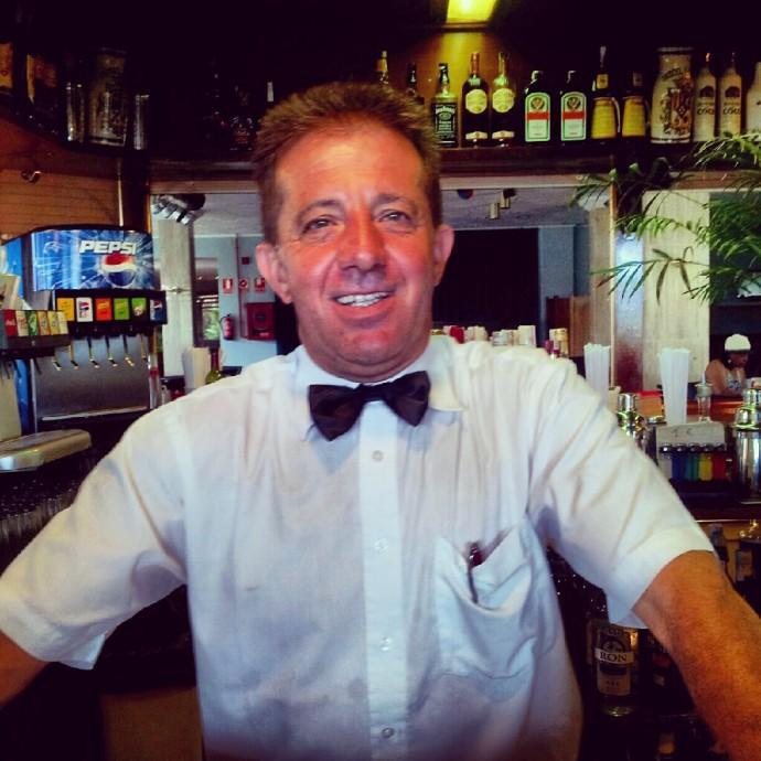 Manolo - Barman Hotel La Paz - Puerto de la Cruz