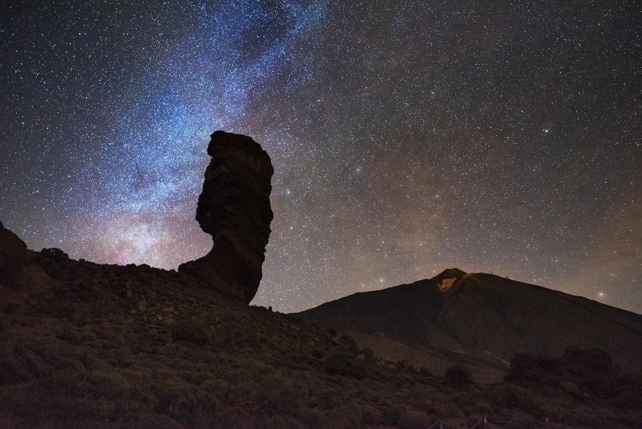 Die besten Orte, um Sterne auf Teneriffa zu beobachten