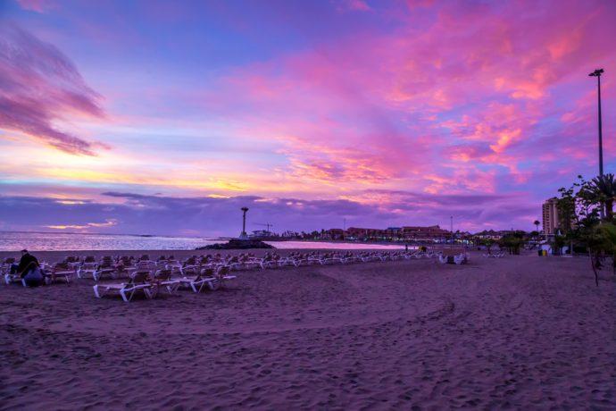 Sechs einzigartige Sonnenuntergänge von Teneriffa