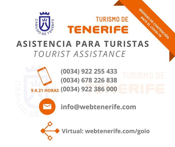 Coronavirus auf Teneriffa, wichtige Informationen für Touristen